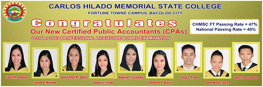 CHMSC Produced 9 New CPAs