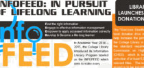INFOEDGE VOL.5: INFOFEED: IN PURSUIT OF LIFELONG LEARNING